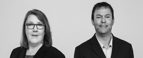 Gruppenbild Karin Dürrstein und Rupert Lang Geschäftsleitung GKM Gesellschaft für Therapieforschung